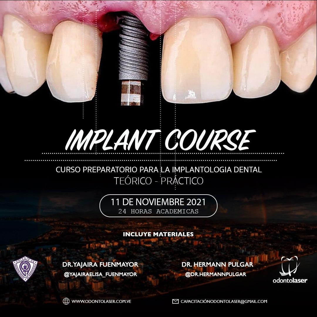 Implant Course Odontoláser